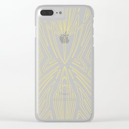 Pinstripe Pattern Creation XIV Clear iPhone Case
