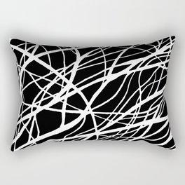 Tumble 2 Black Rectangular Pillow