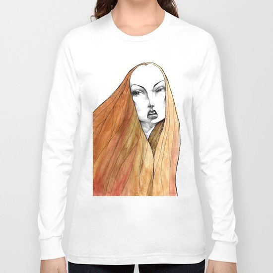 Apple Peel Long Sleeve T-shirt