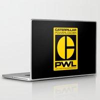 ripley Laptop & iPad Skins featuring Weyland/Cat PowerLoader by IIIIHiveIIII