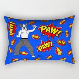 PAW POW - Kungfu Dog Rectangular Pillow