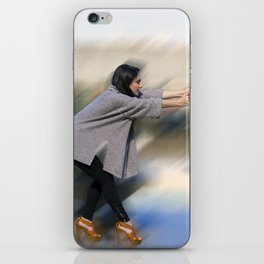 Hold on and Brace iPhone Skin