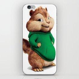 Theodore the cutes chipmunk iPhone Skin