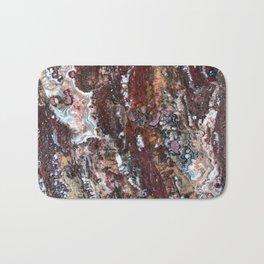 Blood Marble Bath Mat