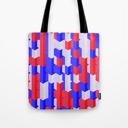 Red Blue White Tote Bag