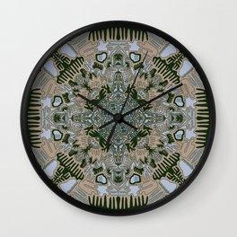 Full moon shapes Wall Clock