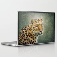 leopard Laptop & iPad Skins featuring Leopard by Pauline Fowler ( Polly470 )