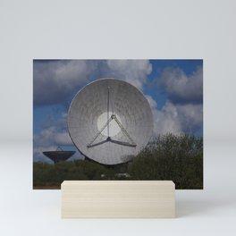 SATELLITE DISH Mini Art Print