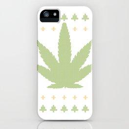 marijuana Green iPhone Case