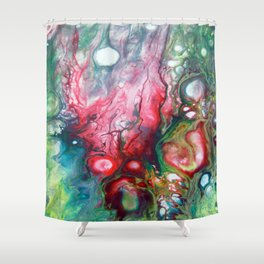 Game color Shower Curtain