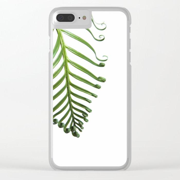 Fern Clear iPhone Case
