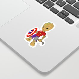 Become Your Own Hero Sticker