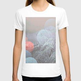 Bokeh Lights on Mountains T-shirt