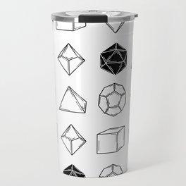 Dungeons and Dragons Dice Travel Mug