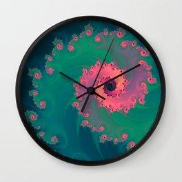 SWIRLY PASTEL Wall Clock