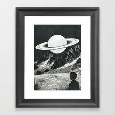 Il pianeta nascente Framed Art Print