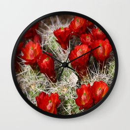 Beauty On Throns Wall Clock