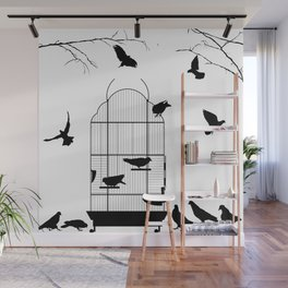 Birdcage Wall Mural