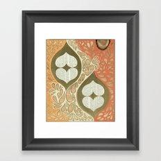 Love knot #1 Framed Art Print