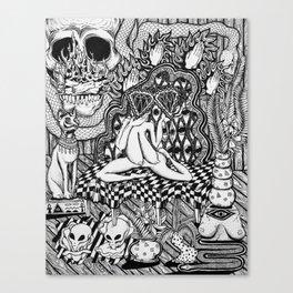 Diamond Priestess  Canvas Print