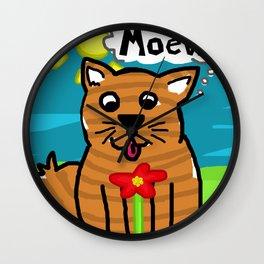 Kiddy Cat Wall Clock