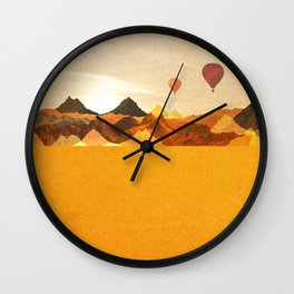The Boonies Wall Clock