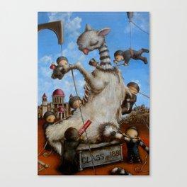new american mythology Canvas Print