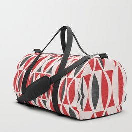 Seventies in Cherry Red Duffle Bag