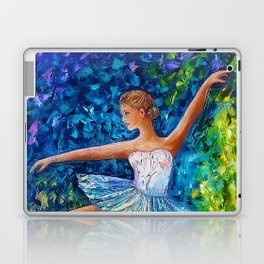 Dance In The Rain Of Color Laptop & iPad Skin