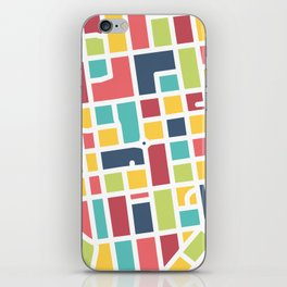 Lancaster, PA Block Map iPhone Skin
