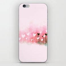 Flower love 2 iPhone & iPod Skin