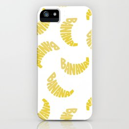 Type' O Banana iPhone Case