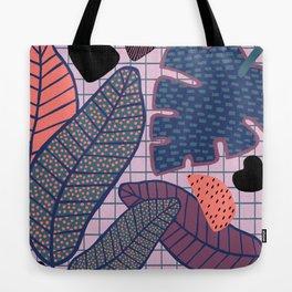 Palm & Monstera Leaves Tote Bag