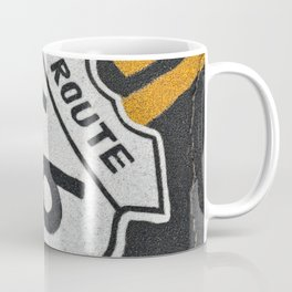 The mythical Route 66 sign. Coffee Mug