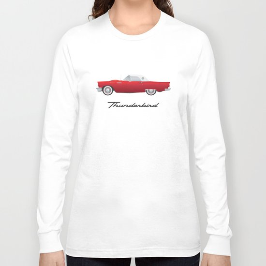 1957 Thunderbird Long Sleeve T-shirt