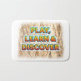 Play, Learn & Discover Bath Mat