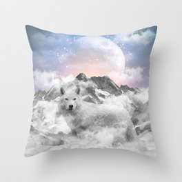 The Soul That Sees Beauty Throw Pillow