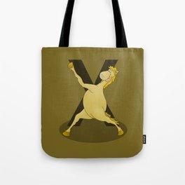 Monogram X Pony Tote Bag