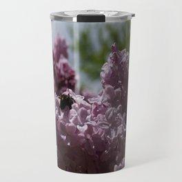 Pollinating bee Travel Mug