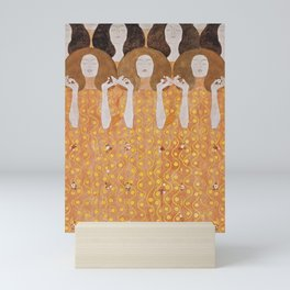 Beethoven Frieze by Gustav Klimt Mini Art Print