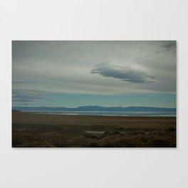 Lago Argentina Canvas Print