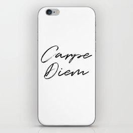 Carpe Diem V2 iPhone Skin