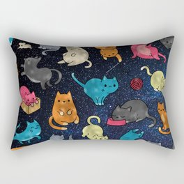 Space cats Rectangular Pillow