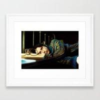 johnny depp Framed Art Prints featuring Johnny Depp by ururuty
