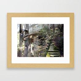 "00:43:24, ""Acquired Aberration"" series Framed Art Print"
