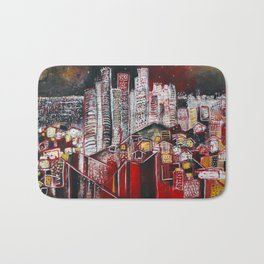 Dreaming of Los Angeles Bath Mat