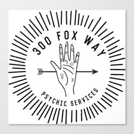 300 fox way Canvas Print