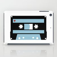 tape iPad Cases featuring Love Tape by Project M