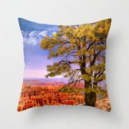 Ponderosa Pine. Bryce Canyon National Park, Utah Throw Pillow
