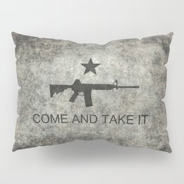 Come and Take it Flag with AR-15 Pillow Sham